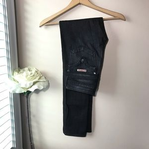 Hudson Skinny Jeans Black Size 27